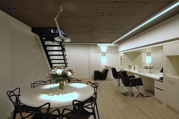 Strak design voor de studio in amsterdam - Studio stijl glazen partitie ...
